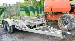 Indespension 8 ft x 4 ft tandem axle plant trailer A707613
