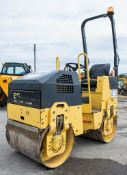 Bomag BW 80 ADH-2 double drum roller Year: 2007 S/N: 101460427066 Rec hours: 880 1083