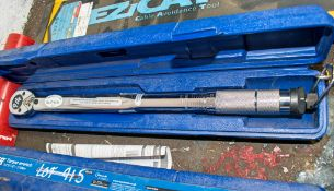 Laser 1/2 inch drive torque wrench c/w carry case A806294