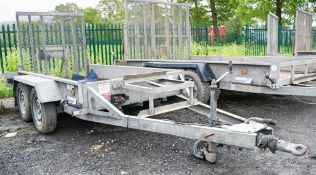 Indespension 8 ft x 4 ft tandem axle plant trailer A697842