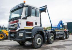 MAN TGS 35.400 8x4 32 tonne hook loader lorry Registration Number: CN15 RUV Date of Registration: