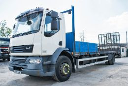 DAF 55.220 4x2 18 tonne beaver tail plant lorry Registration Number: PE10 XBN Date of