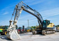 Volvo EC 480 DL 48 tonne steel tracked excavator Year: 2014 S/N: DE00272529 Recorded hours: 7470