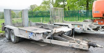 Ifor Williams GH105 10 ft x 5 ft tandem axle plant trailer A703245
