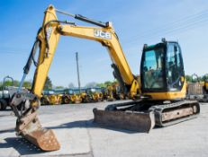 JCB 8085 ZTS 8.5 tonne rubber tracked midi excavator Year: 2012 S/N: 1072590 Recorded Hours: