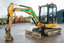JCB 8030 ZTS 3 tonne rubber tracked mini excavator Year: 2015 S/N: 2432303 Recorded hours: 1204
