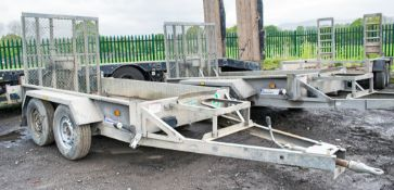 Indespension 8 ft x 4 ft tandem axle plant trailer A671145