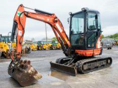 Kubota U25-3 2.5 tonne rubber tracked mini excavator Year: 2013 S/N: 25688 Recorded Hours: 1526