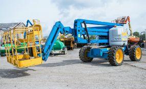 Genie Z45/25 45 ft diesel driven 4 wheel drive articulated boom access platform Year: 2011 S/N: 1663