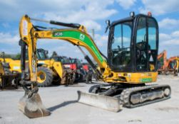 JCB 8025 ZTS 2.5 tonne rubber tracked mini excavator Year: 2015 S/N: 2226852 Recorded Hours: 1685