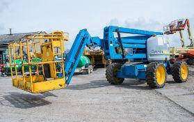 Genie Z45/25 45 ft diesel driven 4 wheel drive articulated boom access platform Year: 2011 S/N: 1676