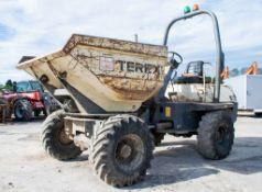 Terex 3 tonne swivel skip dumper Year: 2007 S/N: E703FS094 Recorded Hours: 3150 D1375