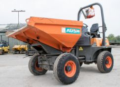 Ausa D350 AHG 3.5 tonne swivel skip dumper Year: 2015 S/N: 65173590 Recorded Hours: 679 D68