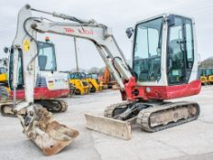 Takeuchi TB228 2.8 tonne rubber tracked mini excavator Year: 2014 S/N: 122863585 Recorded Hours: