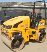 JCB VMT 260-120 double drum ride on roller Year: 2011 S/N: 2803244 Recorded Hours: A563270