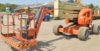 JLG 450AJ Series 2 45 ft diesel driven 4 wheel drive articulated boom access platform Year: 2013 S/