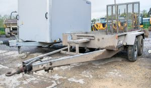 Indespension 8 ft x 4 ft tandem axle plant trailer A560008