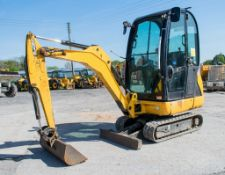 JCB 8016 1.6 tonne rubber tracked mini excavator Year: 2013 S/N: 2071486 Recorded Hours: 2226 blade,