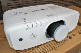 Panasonic PT-EW650EJ projector c/w remote control