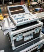 Avolites Quartz lighting console c/w dust cover & flight case