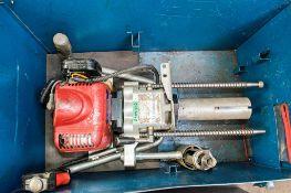 Cembre petrol driven rail drill c/w carry case A509982