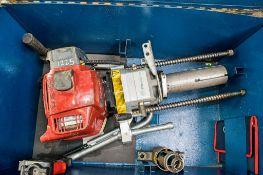 Cembre petrol driven rail drill c/w carry case A580893