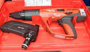 Hilti DX460 nail gun c/w carry case A723544
