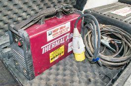 Thermal Arc 110v invertor welder for spares c/w carry case