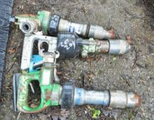 3 - pneumatic rock drills