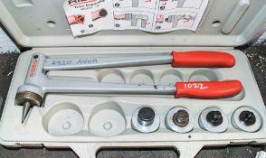 Ridgid tube expander c/w carry case