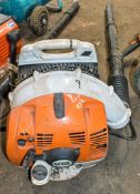 Stihl BR350 petrol driven back pack blower A650210