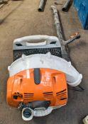 Stihl BR350 petrol driven back pack leaf blower A650211