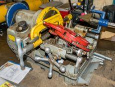 Hilmor HST400 110v pipe threader c/w legs