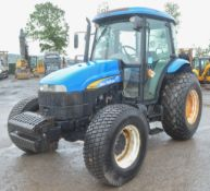 New Holland TD5050 4 wheel drive tractor Year: WX09FSY Rec Hours: 1539 c/w V5C