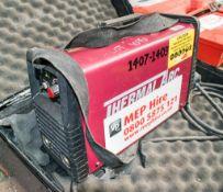 Thermal Arc 110v invertor welder c/w carry case