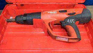 Hilti DX460 nail gun c/w carry case A720093