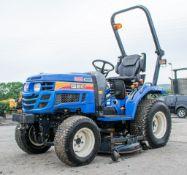 Iseki Hydro TM3265 4WD compact tractor Year: 2012 S/N: 000770 Recorded Hours: 2709 c/w Iseki SRM54
