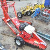 Petrol driven stump grinder GSA17