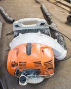 Stihl BR350 petrol driven back pack leaf blower A650214