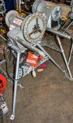 Ridgid 300 110v pipe threader c/w Ridgid tri-stand & foot pedal