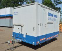 Easy Cabin Mobile Welfare Unit c/w 6 kva generator and keys in office BUOFF267