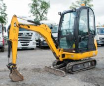 JCB 8016 CTS 1.5 tonne rubber tracked mini excavator Year: 2013 S/N: 2071337 Recorded Hours: 1335
