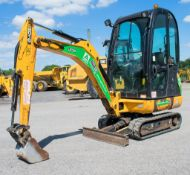 JCB 8016 CTS 1.5 tonne rubber tracked mini excavator Year: 2014 S/N: 2071574 Recorded Hours: 1396