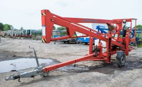 Nifty 120HE battery electric fast tow boom lift Year: 2006 S/N: 14221