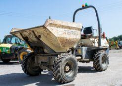 Benford Terex 3 tonne swivel skip dumper Year: 2007 S/N: E704FS153 Recorded Hours: 3931 D1376