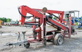 Nifty 120TE battery electric fast tow boom lift Year: 2006 S/N: 13782
