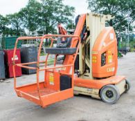 JLG Toucan 10E battery electric boom lift Year: 2007 S/N: 7013 A554609 ** Sold as a non