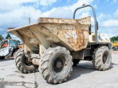 Terex 6 tonne straight skip dumper Year: 2008 S/N: E803FW191 Recorded Hours: 2835