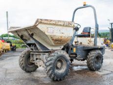 Benford Terex 3 tonne swivel skip dumper Year: 2007 S/N: E706FS217 Recorded Hours:2849 1384