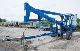 Nifty 120HE battery electric fast tow boom lift Year: 2003 S/N: 10664